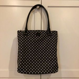 Kate Spade Polka Dot Book bag
